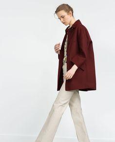 HAND MADE COAT-Coats-WOMAN | ZARA Thailand