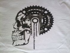 Mountain bike T shirt - Men's T Shirt - Bicycle T Shirt