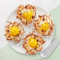 Hash Brown Egg Nests Recipe | Yummly