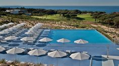The Oitavos Hotel in Portugal – Swimming Pool #hotel #hotels