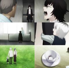 Happiness, something I never thought I'd see in Tokyo Ghoul Me Me Me Anime, Anime Love, Tokyo Ghoul Drawing, Anime Meme Face, Tokyo Ghoul Wallpapers, Draw The Squad, Juuzou Suzuya, Kaneki, Meme Faces