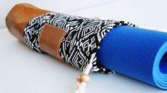 Pfaff - May 2015 - Free Sewing Project - Boho Yoga Mat Bag