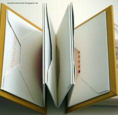 Leporello Buch aus Umschlägen - Photos - von Blütenstempel: Rund um Umschlag...