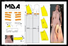 Beginning to Sew Modest Clothing Patterns – Recommendations from the Experts Evening Dress Patterns, Wedding Dress Patterns, Fashion Sewing, Diy Fashion, Ideias Fashion, Sewing Clothes, Diy Clothes, Clothes For Women, Sewing Patterns Free