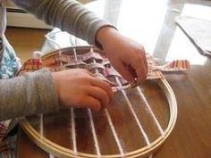 Montessori weaving by heidi