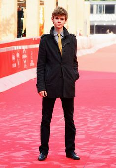"""Thomas Brodie-Sangster Actor Thomas Brodie-Sangster attends the """"Death of a Super Hero"""" photocall during the 6th International Rome Film Festival on November 3, 2011 in Rome, Italy."""