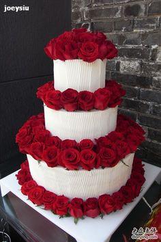 ❥●❥ ♥ ♥❥●❥ Art Cakes, Cake Art, Unique Cakes, Elegant Cakes, 50th Birthday, Birthday Cake, Fresh Cream, Cake Decorating Tips, Cake Decorations