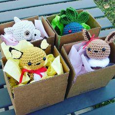 ideas crochet amigurumi pokemon fanart for 2019 Crochet Mittens Pattern, Crochet Scarf Easy, Crochet Headband Pattern, Diy Crochet, Crochet Baby Boy Hat, Baby Boy Hats, Crochet Pokemon, Baby Fabric, Crochet Projects