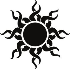 sun art | Tribal Sun clip art - vector clip art online, royalty free & public ...