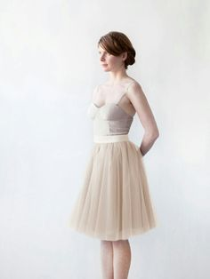 Falda de tul Alexandra Grecco
