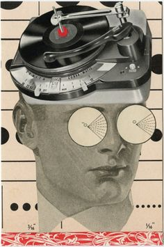 Spin, 2010.  Collage by Angelica Paez.