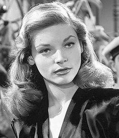 Lauren Bacall Actress 1940s
