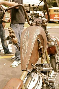 Custom Motorcycles Paint job Inspirations | Bobber & Chopper | Old school vintage style bike art & apparel