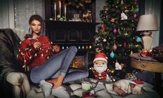 (Ready to upload) Christmas Sweaters, Photo And Video, Videos, Photos, Fashion, Moda, Pictures, La Mode, Fasion