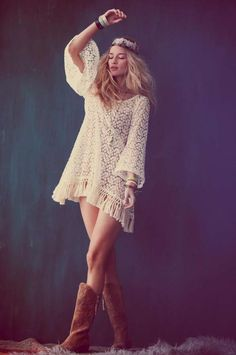 The Free People Festival Lookbook is Ready For The Concert Scene #photoshoots #fashion trendhunter.com