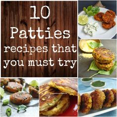Merry Tummy: 10 Patties Recipes That You Must Try