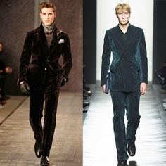 The main trends of Fall - Winter 2016/2017 Menswear  No.7 Velvet #fashion #trend #review #fall #winter #2016 #menswear #velvet #suit #style #man #look #menstyle #menfashion #luxury #outfit #ootd #new #season #collection #runway #fashionshow #gentleman #jds #josephabboud #bottegaveneta  The review was prepared by Julia Soldatova, an expert of JDS