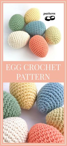 Egg Crochet Pattern / Crochet Egg Pattern / Crochet Easter Decoration Easter Crochet Pattern /Suitable for Beginners / Twig Tree Ornaments #crochetpattern #crochet #egg #affiliate #easteregg #egg