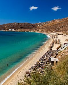 Elia beach is one of the most famous and popular beaches in Mykonos. View them all on our comprehensive article dedicated to the island of the winds.  #Mykonos #beachesinMykonos #greeksummer #summeringreece #Cyclades #Μυκονος #παραλιες #παραλιεςΜυκονου #κυκλάδες Mykonos Island, Summer Days, Beaches, Islands, Greece, Popular, Outdoor, Water