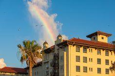 Rainbow over the Galvez