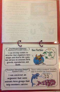 Next Generation Science Standards - Create a resource book for your classroom to help students take more responsibility for their own learning!  $