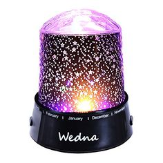 Wedna LED Star Light Projector Baby Nursery Night Light Relaxing Sleep Aid Lamp Best Christmas Gift for Kids Children >>> See this great product. (Note:Amazon affiliate link)