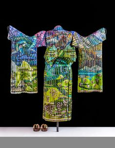 "Art glass sculpture. ""Spring Dawn Kimono"" · Third in a four-part series | Markow & Norris, Inc."