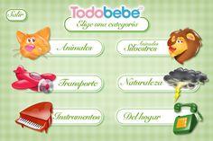 La app Oir+Aprender permite enseñarle a los niños los sonidos de los objetos, instrumentos musicales y animales en inglés, español y portugués. ¡Divertidísimo!