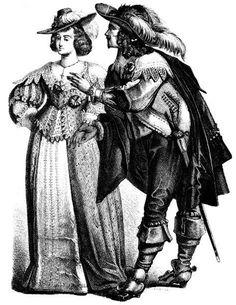 Современная мода и европейский костюм 17 века
