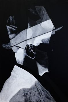 """Saatchi Online Artist Bob Geal; Painting, """"Double Negative"""" Double Negative, Photo Class, Saatchi Online, Oil On Canvas, Saatchi Art, Art Photography, Original Paintings, Gallery Wall, Black And White"""