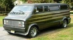 70's Dodge customized van..vk