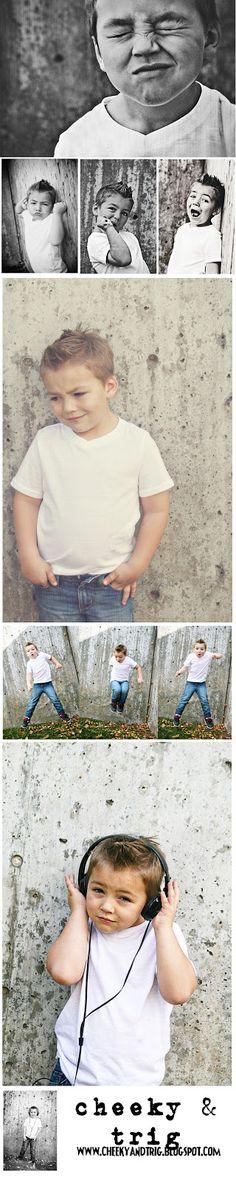 Boys Photoshoot Ideas