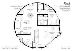 Floor Plan: DL-5018 | Monolithic Dome Institute