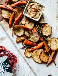 This tasty recipe for Umeboshi Roasted Vegetables with Creamy Tahini Ginger Dip brings out the sweet flavor of the umeboshi paste mixed with shoyu, honey, and garlic, then combined with roasted veggies and tahini.