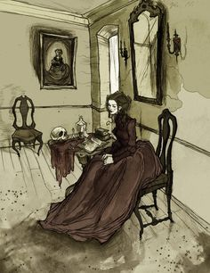 Morella by AbigailLarson.deviantart.com - the deliciously dark Morella, based on Poe's short story..