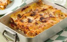 I vincisgrassi piatto tipico delle Marche Italian food