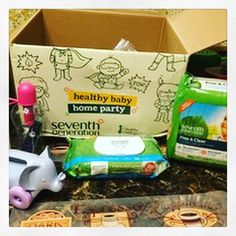 Thanks to everyone who participated in my Seventh Generation healthy baby home party!! Everyone loved checking out the full size free products that were sent in the kit, the free samples that they were sent home with, and being able to try these awesome products. @seventhgeneration @Healthy_Child @Zarbees, @bobblelove @GreenToysInc