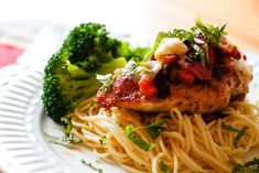 15 Healthy Chicken Recipes You Must Tr Healthy Chicken Recipes, Cooking Recipes, Shrimp And Rice Recipes, Bruschetta Chicken, Cooking With Olive Oil, Chicken Pasta, Entrees, Food To Make, Dinner Recipes