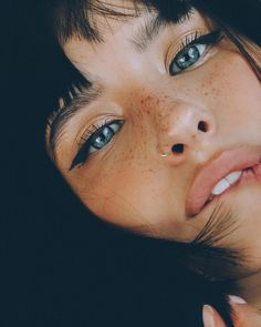 Marvelous Female Portrait Photography by Ekaterina Mironenko How exactly to Fake Freckles with Makeup: Faux Freckles Tips Face Photography, Photography Women, Iphone Photography, Photography Composition, Photography Lighting, Photography Backdrops, Photography Business, Woman Portrait Photography, Street Photography