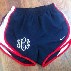 Monogrammed Nike's
