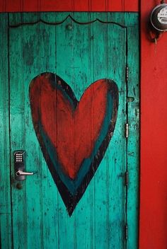A Door With Heart...