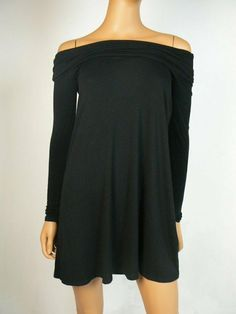 Off shoulder. Off The Shoulder, Cold Shoulder Dress, Sexy Dresses, Formal Dresses, Faux Wrap Dress, Bcbgmaxazria Dresses, Long Sleeve, Color, Black