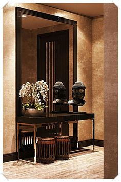 Home Interior Design -  Home Improvement - What You Need To Know ** Sincerely hope that you enjoy our picture. #homeinteriordesign Entrance Halls, Home Entrance Decor, House Entrance, Entryway Decor, Entryway Tables, Home Decor, Residential Complex, Residential Lighting, Apartment Entrance