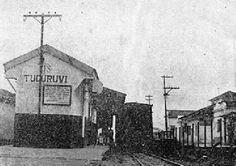 A estação Tucuruvi nos anos 1950. Autor desconhecido