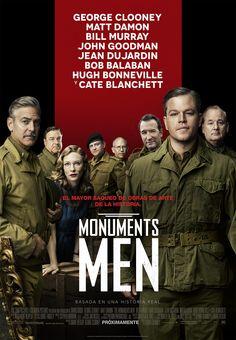 Cartel Español de Monuments men