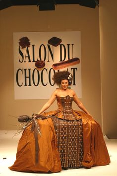 Jean BOGGIO DRESS Salon du Chocolat/Maison du chocolat