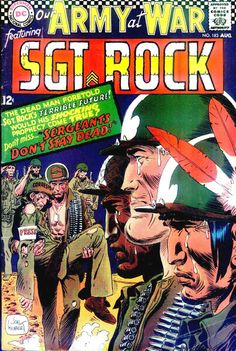 Our Army At War 183 - Sgt. Rock - Joe Kubert