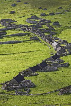 St Kilda village - Scotland