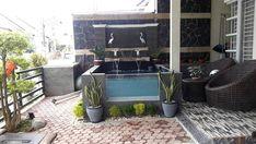 Creative Home Gardening Ideas Pond Design, Garden Design, House Design, Fish Ponds Backyard, Indoor Water Fountains, Minimalist Garden, Small Pools, Outdoor Furniture Sets, Outdoor Decor