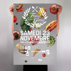 Affiche Food & the gang Vol. 4 poster's by L_st